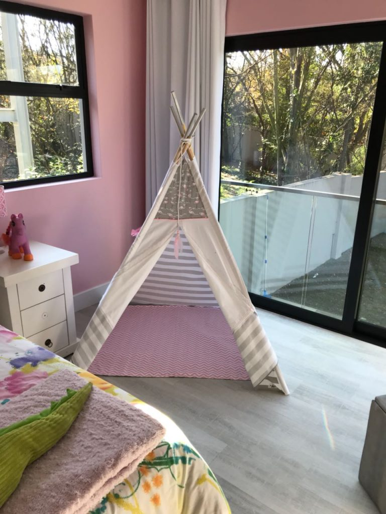 Teepees and play tents in Johannesburg testimonial