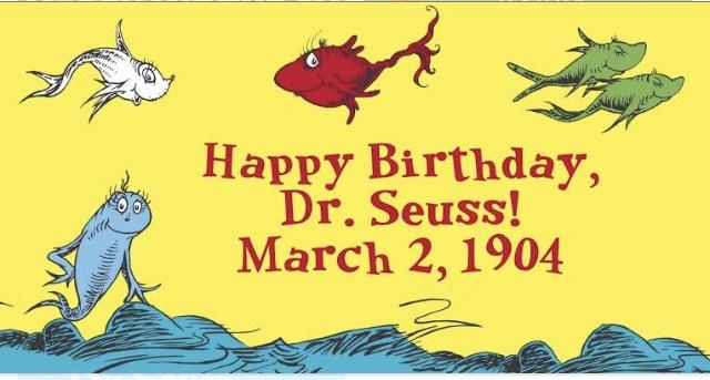 Dr. Seuss birthday 2 March