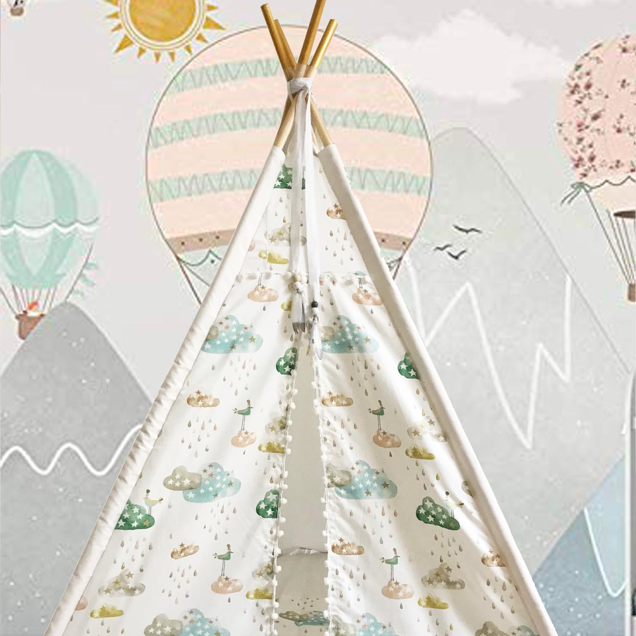Star motif teepee for sale
